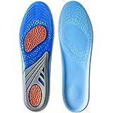 Kalak: Plantillas GEL Sports Confort Cuttable Insoles para la amortiguación