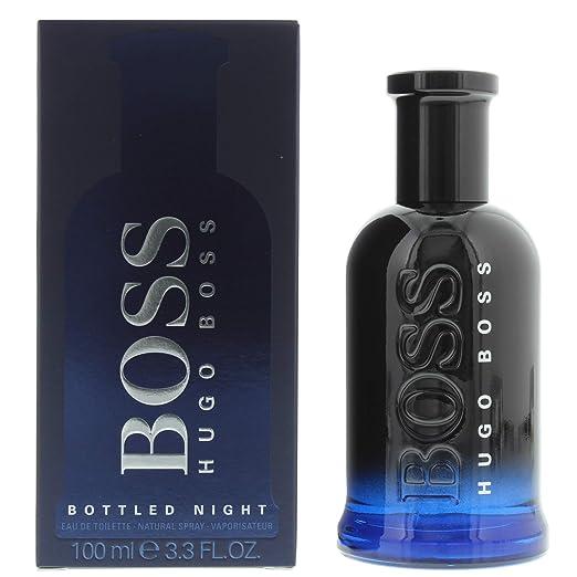 0b62d04b3 Amazon.com: Hugo Boss BOTTLED NIGHT Eau de Toilette, 3.3 Fl Oz: Boss  Bottled Night: Luxury Beauty