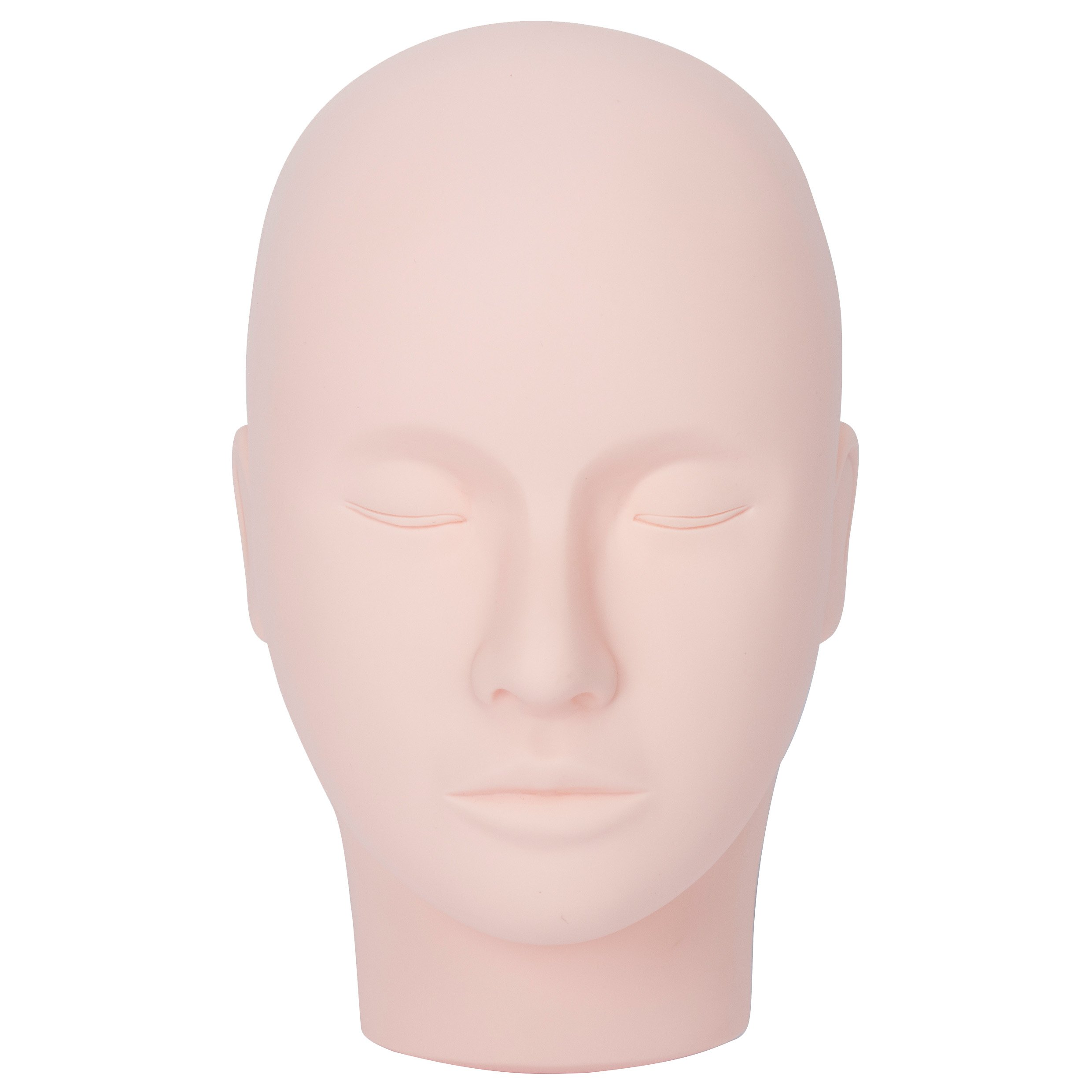 Rubber Practice Mannequin Manikin Head Eyelashes Makeup Massage Practice by BHD BEAUTY (Image #3)