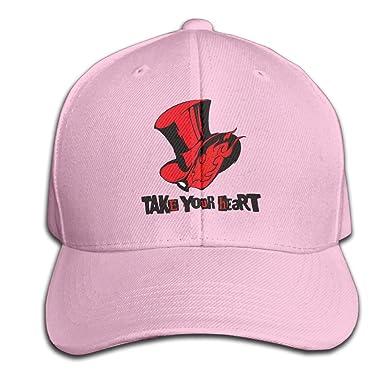 Persona 5 Take Your Heart Snapback Baseball Peaked Caps at Amazon Men s  Clothing store  2fb8f9352aa