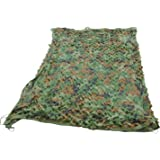 DreamColor 3M X 3M Camouflage Net Military Camo Cover Army Shelter for Camping Hide Hunting