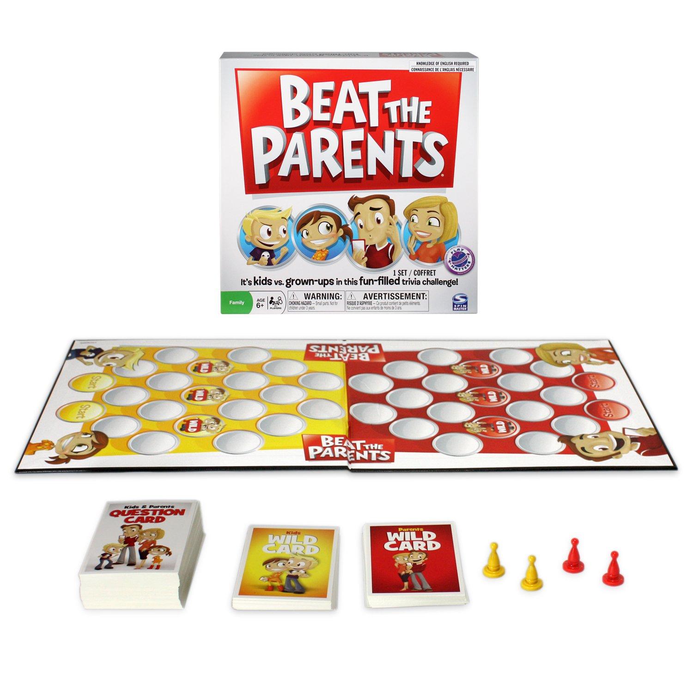 Games & Puzzles - Juego de Preguntas, 2 a 4 Jugadores (Spinmaster ...