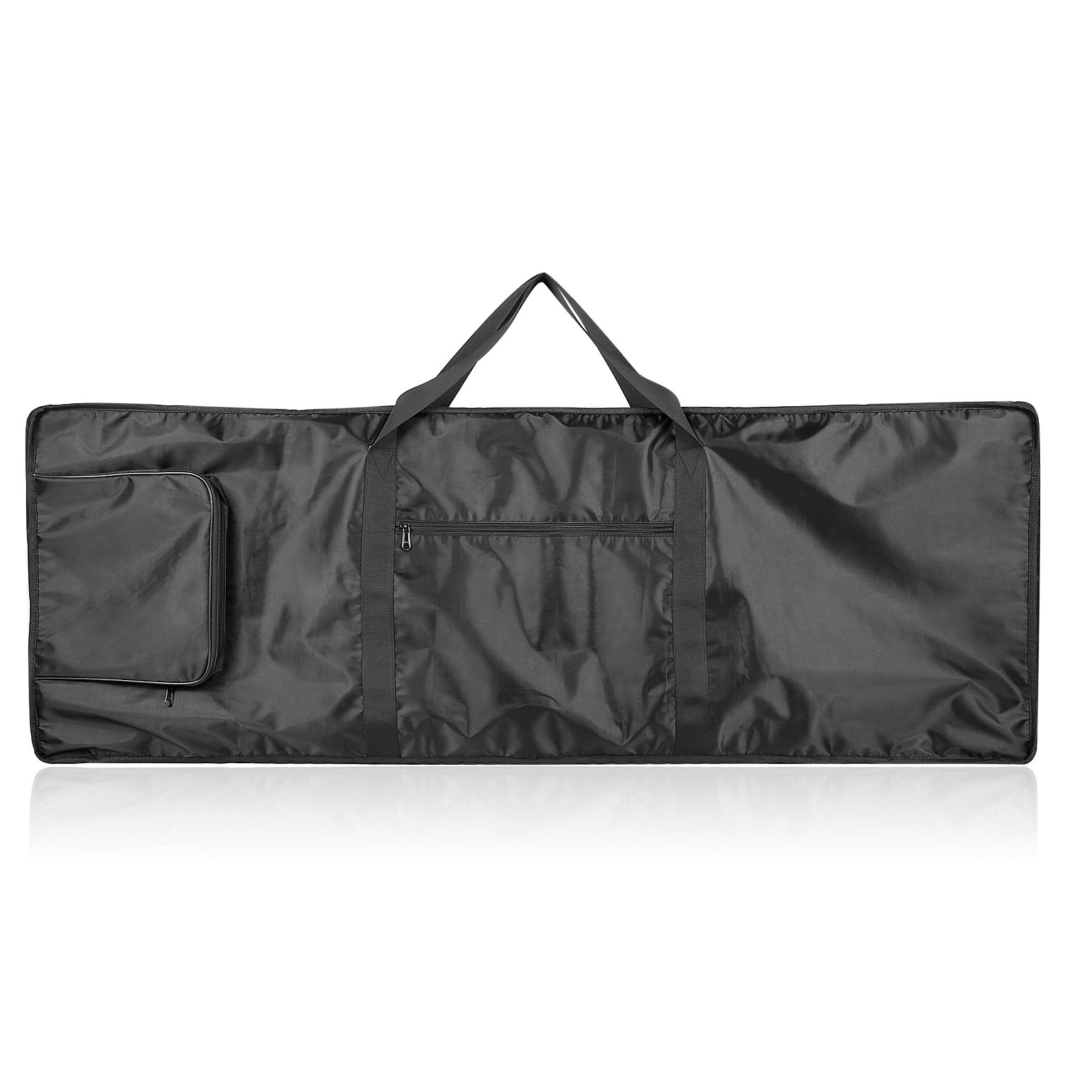 Neewer 88-Key Keyboard Bag with Extra Pockets for Electric Piano, Made of Durable and Waterproof Nylon, Adjustable and Portable Backpack Straps, Black Neewer® 40087431