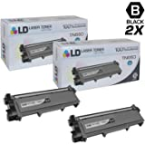 LD © Compatible Replacements for Brother TN660 2PK HY Black Laser Toner Cartridges for Brother DCP L2520DW, L2540DW, HL L2300D, L2320D, 2340DW, L2360DW, L2380DW, & MFC L2700DW, L2707DW, L2720DW, L2740DW