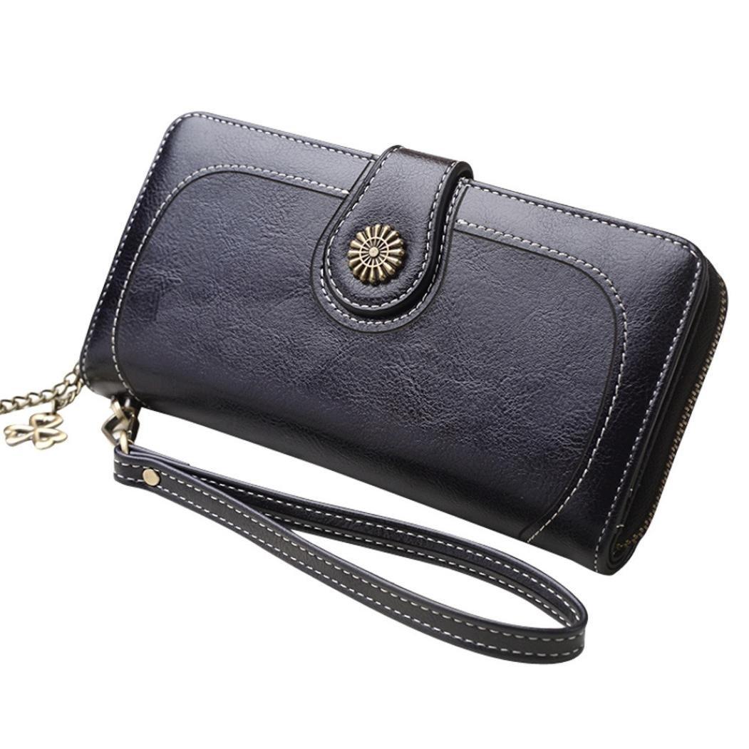 Women's Wallets,iOPQO Female Handbag Long Style Clutch Wallet Card Wallet