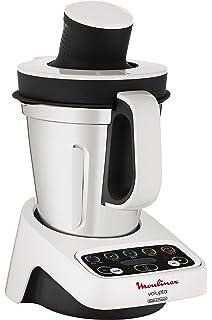 Moulinex HF404113 Robot de Cocina multifunción, Capacidad de 3 l, Interfaz intuitivo con 5 programas…