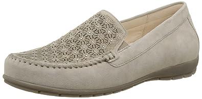 Gabor Shoes Comfort, Mocasines para Mujer, Marrón (Koala 42), 36 EU