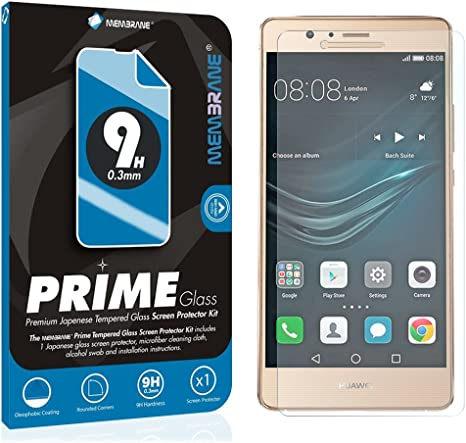 Membrane - Vidrio Templado compatibles con Huawei P9 Lite: Amazon.es: Electrónica