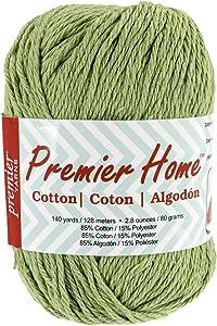 Premier Yarns Home Cotton Yarn, Solid Sage
