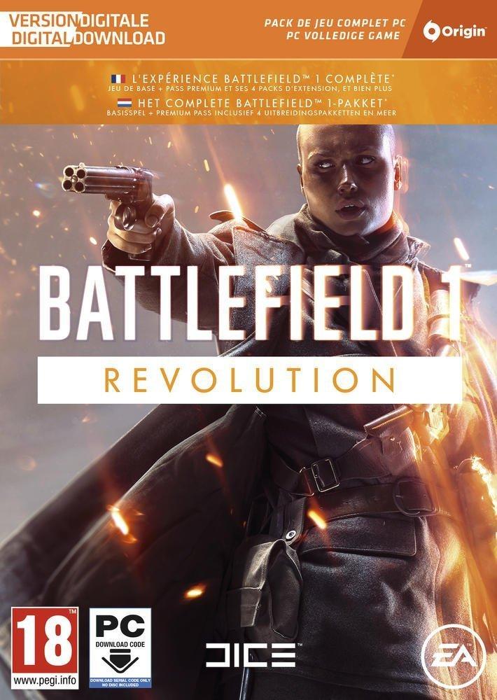 Battlefield Edición Revolution La caja contiene un código de descarga Origin