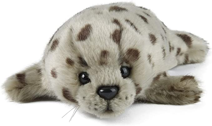 Living Nature Soft Toy Common Seal Pup (22cm)