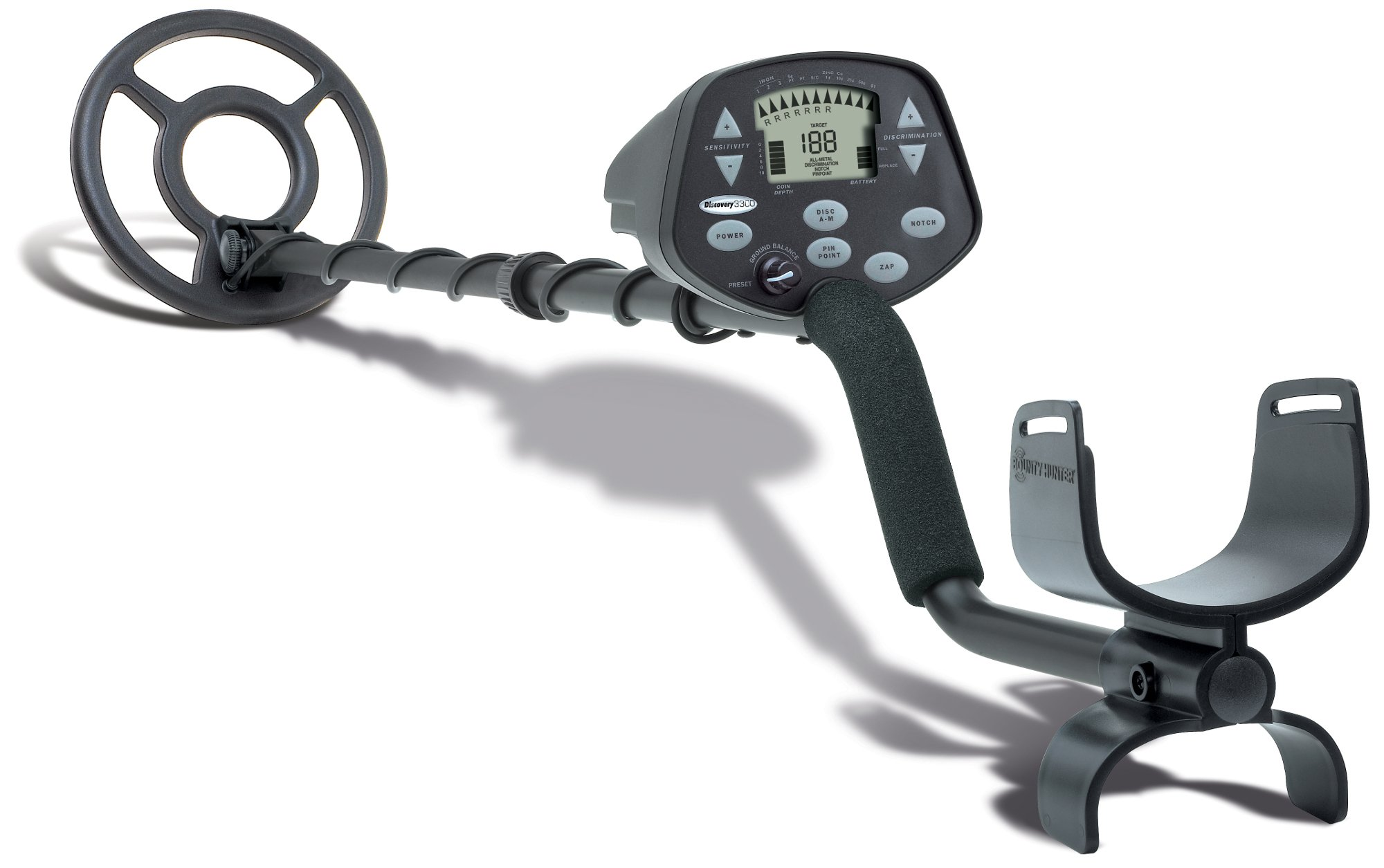 Bounty Hunter Discovery 3300 Metal Detector by Bounty Hunter