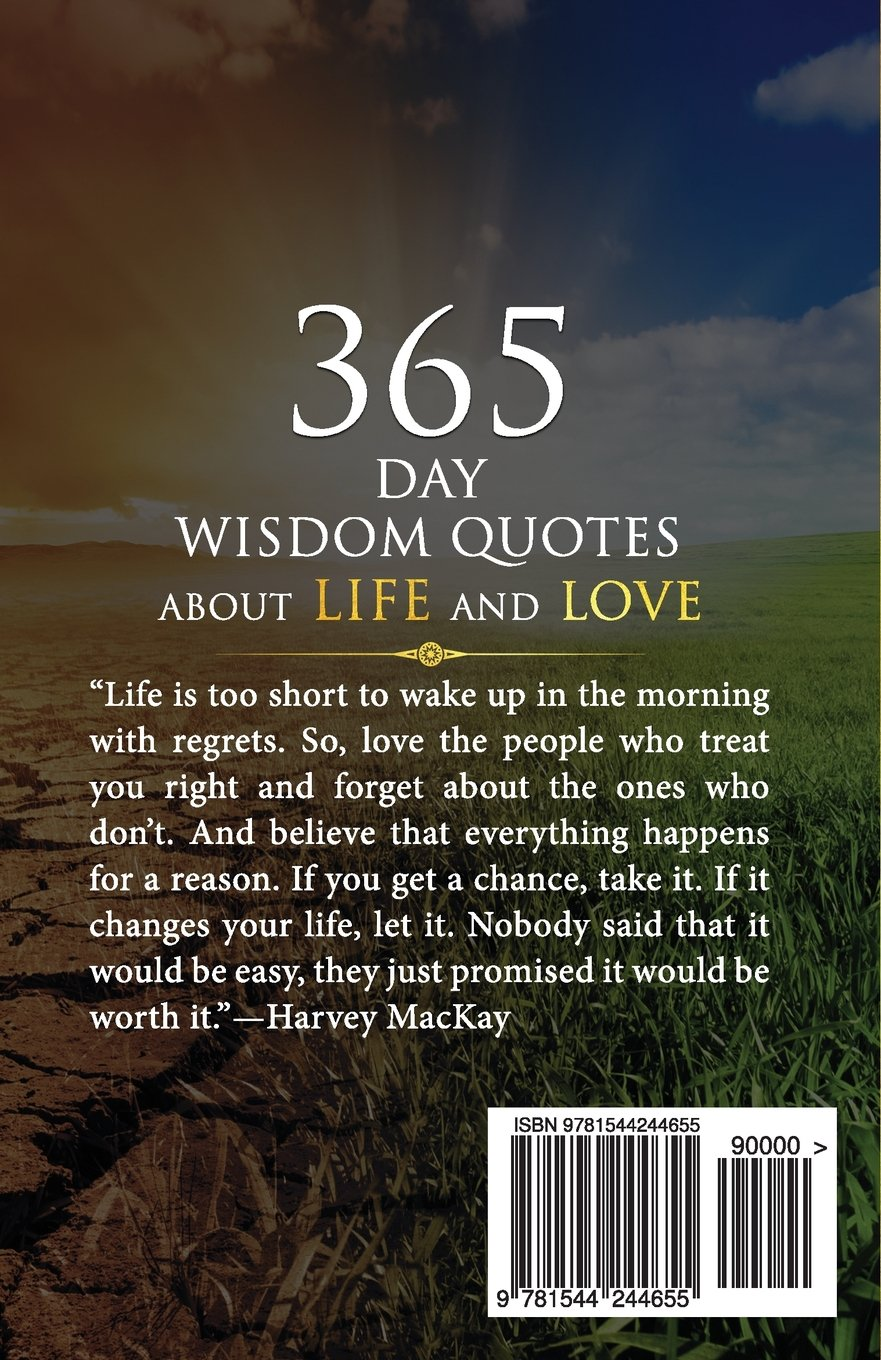 Wonder 365 Days Wisdom Quotes About Life And Love Getting Better