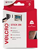 VELCRO Brand Nastro riapribile adesivo 20mmm x 5m Bianco