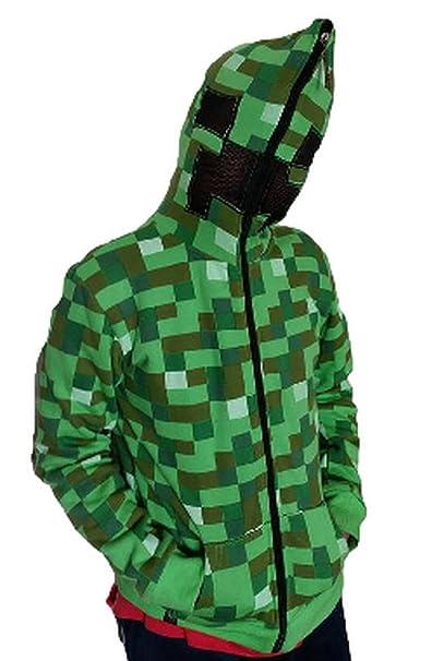 JINX - Sudadera con Capucha - para niño Verde Verde L: Amazon.es: Ropa y accesorios
