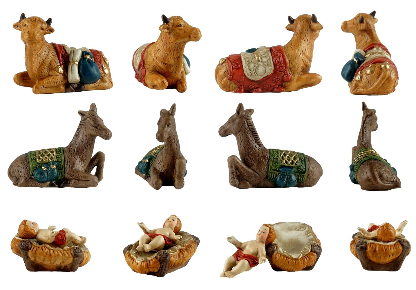 Party Explosions Baby Jesus Nativity Scene Ceramic Figurine Party Explosions®