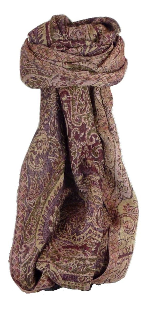 Muffler Scarf 2213 in Fine Pashmina Wool from the Heritage Range by Pashmina & Silk by Pashmina & Silk (Image #1)