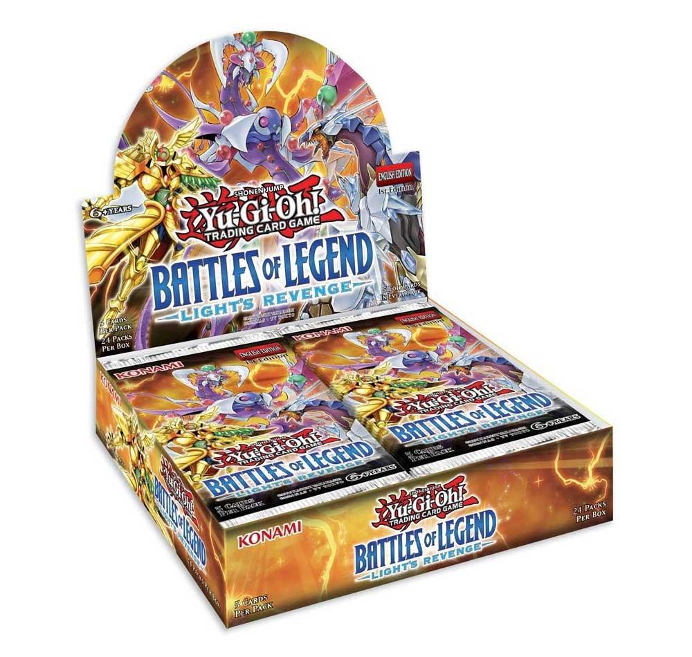 Yu-Gi-Oh Battle Of Legend Lights Revenge Booster Display Box