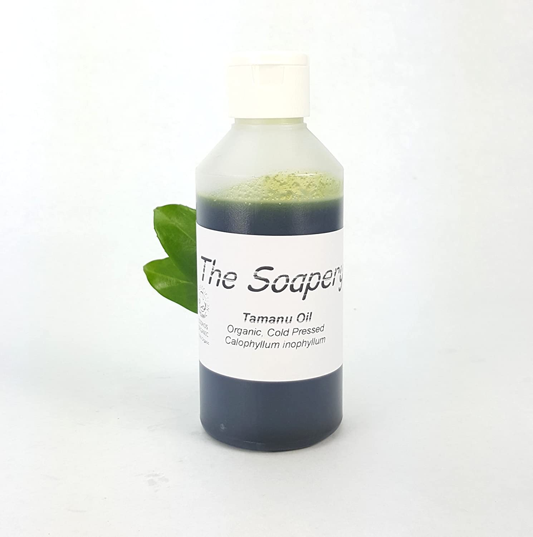Aceite de Tamanu 250 ml – prensado en frío certificado orgánico por la Soil Association 100% puro y natural