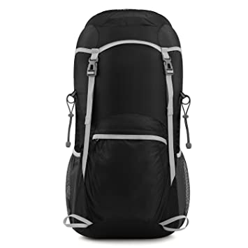 Amazon.com : Gonex Lightweight Foldable Backpack 40L Daypack for ...