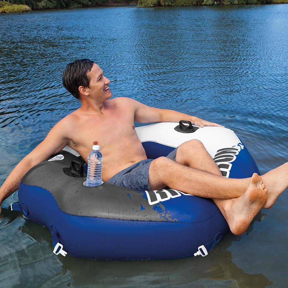 Intex River Run Connect Lounge, Inflatable Water Float