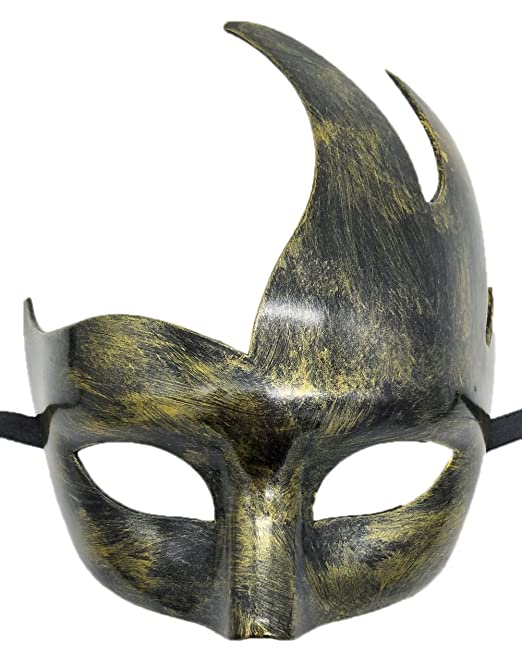 Máscara de la mascarada veneciana para hombre Diseño clásico Prom Mardi Gras Máscaras (Negro): Amazon.es: Juguetes y juegos