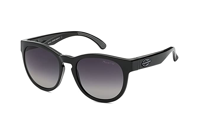 MORMAII Gafas de sol Ventura, negro brillo con lentes polarisada