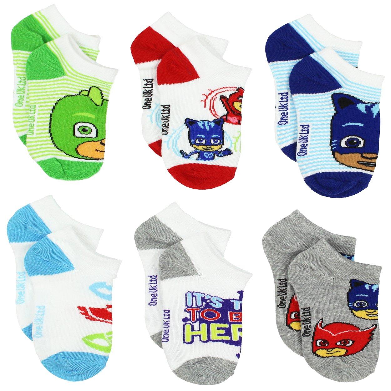 PJ Masks Boys Girls Toddler Multi Pack Socks