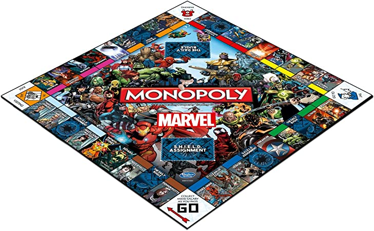 Marvel Comics Juego de Mesa Monopoly Marvel Universe *Edición Inglés*: Amazon.es: Juguetes y juegos