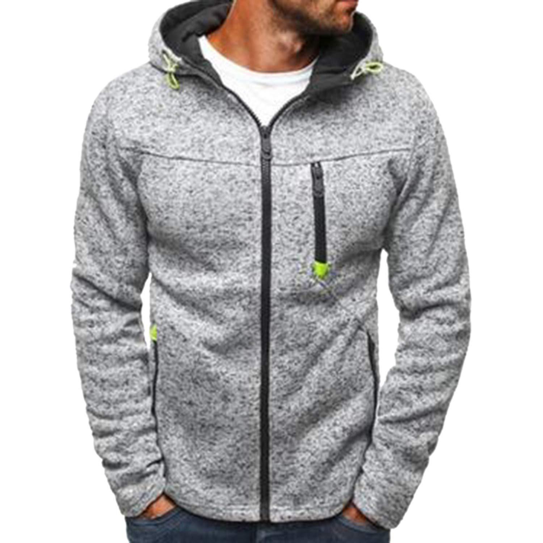 Sweatshirt Men Hoodies Winter Solid Hoodie Mens Hip Hop Coat Pullover Tracksuits