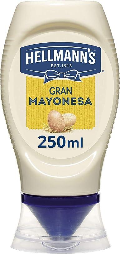 Hellmanns - Mayonesa en Bote Dispensador Gran con Huevos 100% de ...
