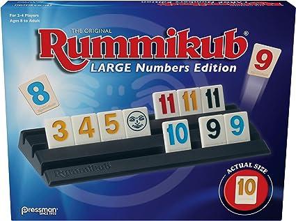 Interior, Cube 10 min Rummikub Xpress 7 a/ño , Ni/ños, Multicolor Juegos de dados s 6 sides