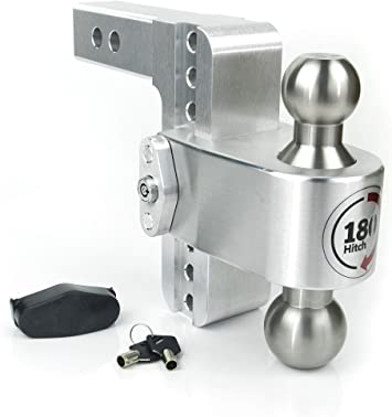 Weigh Safe w// Stainless Steel Balls 180 Hitch 2-Ball Mount LTB6-2