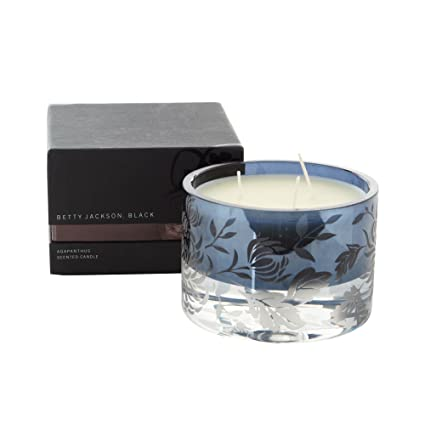 3b708e20e7 Debenhams Betty Jackson.Black Dark Blue Agapanthus Scented Candle  Betty  Jackson.Black  Amazon.co.uk  Kitchen   Home