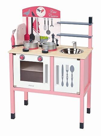 Schon Janod 4506533   Maxi Küche (mit Accessoires), Rosa