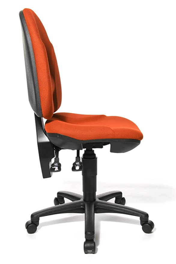 Topstar PO50BC4 Point 35 - Silla de Escritorio con Ruedas, Color Naranja: Amazon.es: Hogar