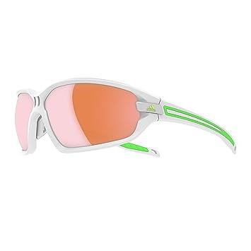 ADIDAS Sonnenbrille Evil Eye Evo S white matt/green, Größe S
