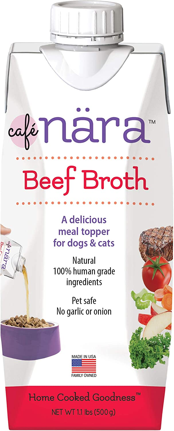Café Nara Broth Meal Topper for Dogs and Cats- 1.1 lbs.