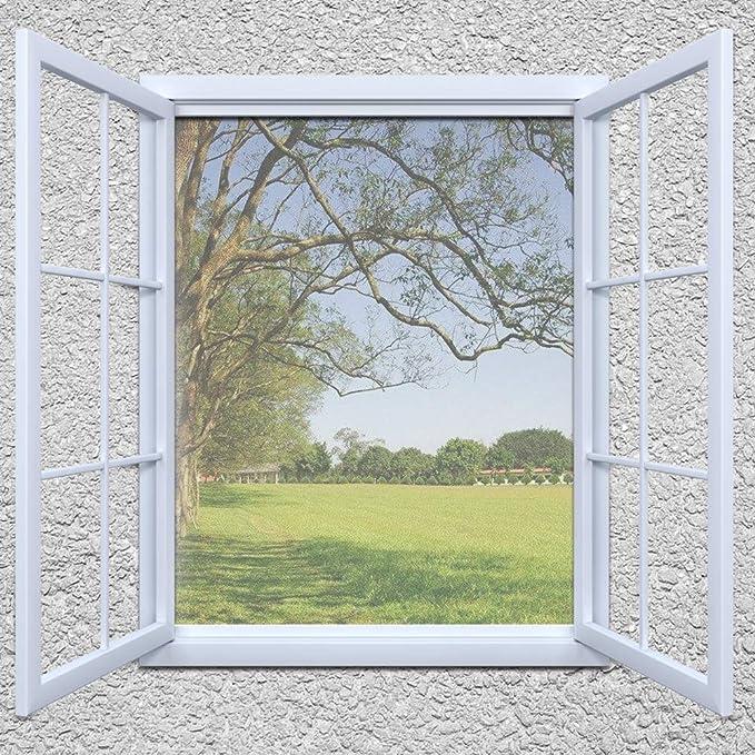 Fliegengitter Fenster Küche Gitter Insektenschutzgitter Alu 100x120CM