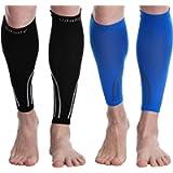 Udaily Calf Compression Sleeves for Men & Women (20-30mmhg) - Calf Support Leg Compression Socks for Shin Splint & Calf…