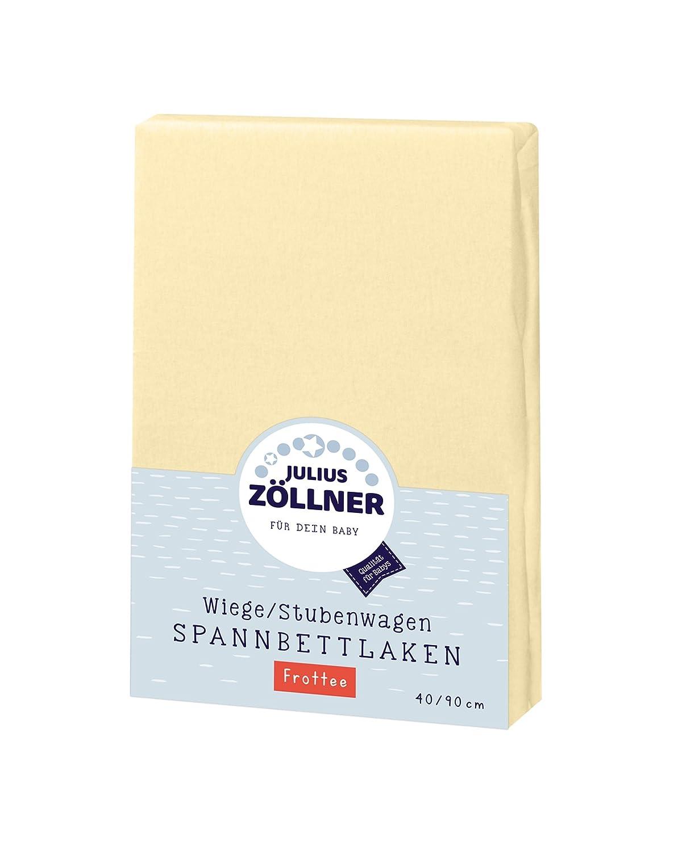 Zöllner Spannbetttuch Jersey 90x40 Weiss 3er Pack NEU