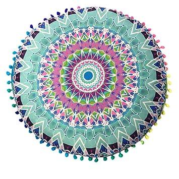Amazon.com: Therasoon Mandala Tapestry Mat, Indian Mandala ...