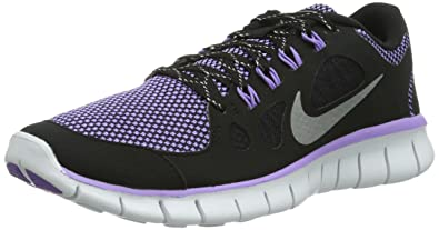 hot sale online c887d bc662 NIKE Free 5.0 LE (GS) 631563 Girls Running Shoes Black Size  3.5