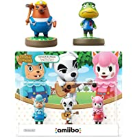 Animal Crossing Series 3-Pack Amiibo (Animal Crossing Series) - Mr. Resetti - Kapp'n Amiibo Bundle for Nintendo Switch…