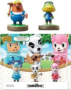 Animal Crossing Series 3-Pack Amiibo (Animal Crossing Series) - Mr. Resetti - Kapp'n Amiibo Bundle for Nintendo Switch - 3DS - Wii U (Bulk Packaging)