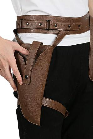 Holster /& Belt Prop Wild West Fancy Dress costume Kids//Adults Cowboy Gun