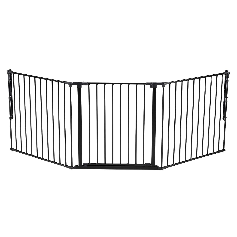 Hecho en Dinamarca Color: negro aprobado por T/ÜV // GS BabyDan Premier Door Guard // Clamp 73.5-79.6 cm
