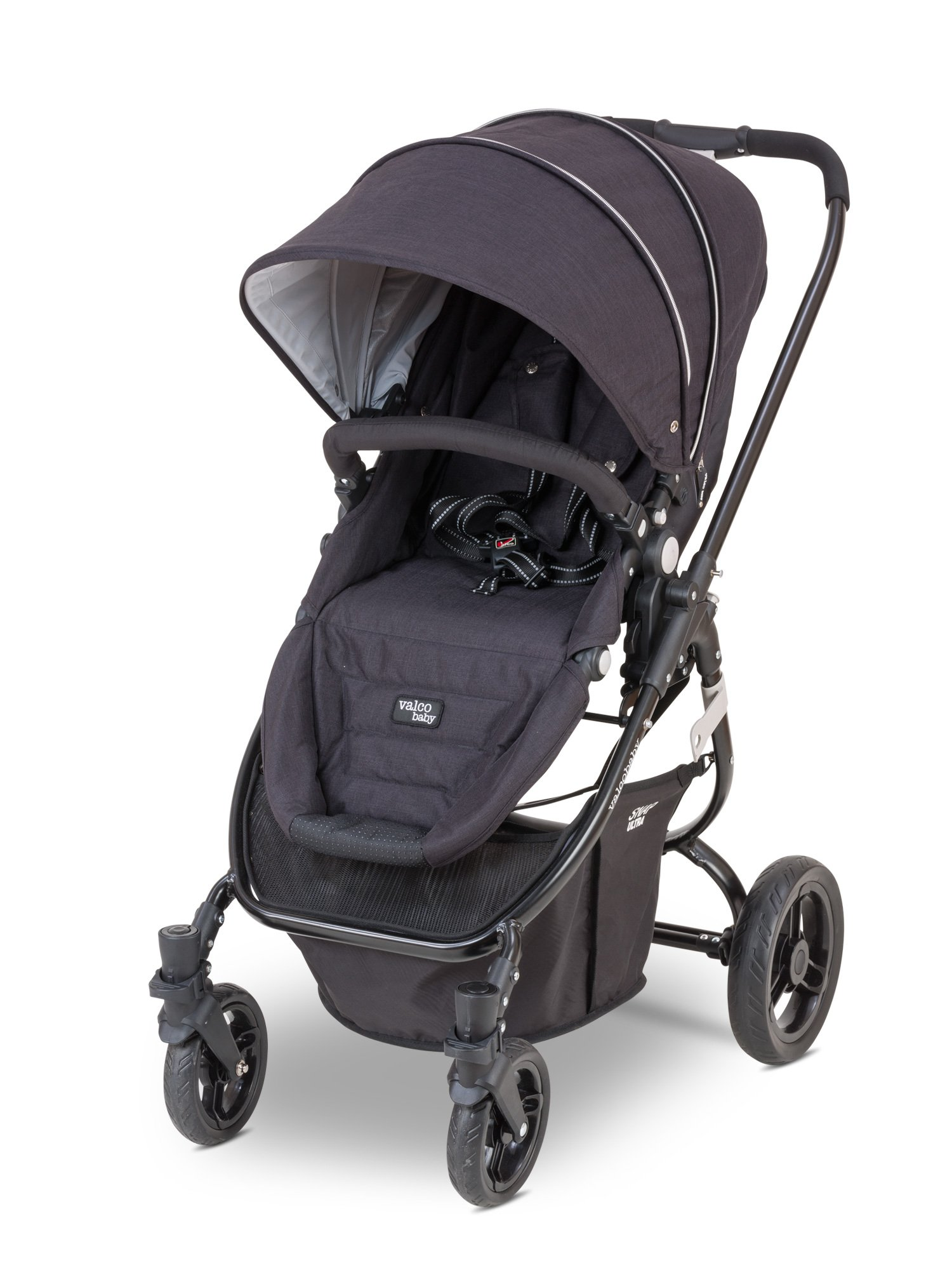 Valco Baby Snap Ultra Lightweight Reversible Stroller (Black Night) by Valco Baby (Image #1)