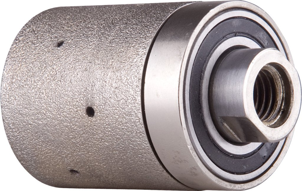 2''X2'' Medium Diamond Vacuum Brazed Grinding Drum Wheels with 5/8-11 Thread