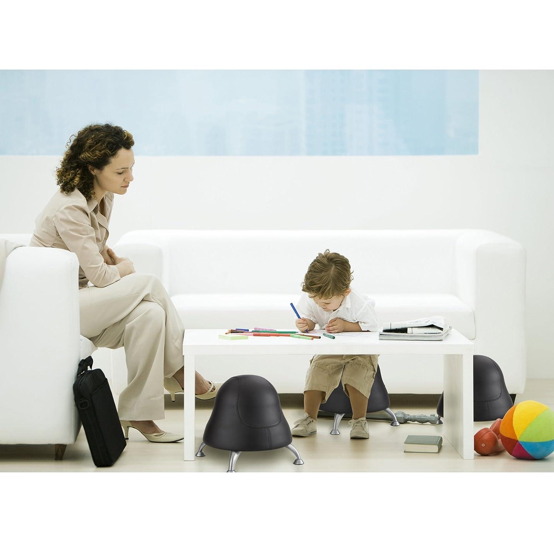 Amazon Safco Products 4756BV Runtz Ball Chair Black Vinyl
